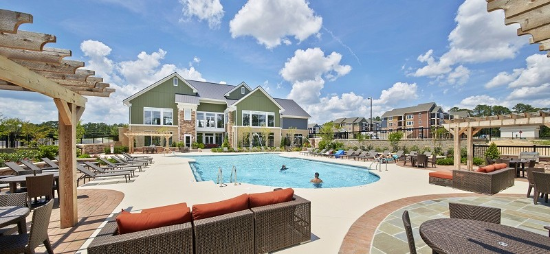pool. Luxury Swimming Pool   Fayetteville NC Apartments