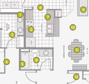 Addison Ridge Floorplans